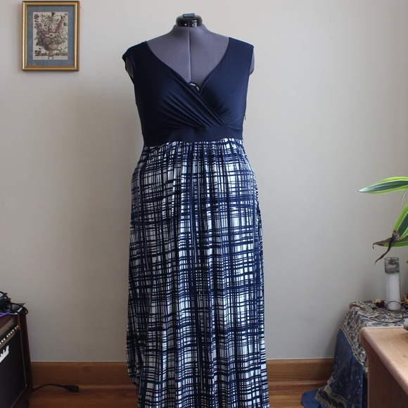 Igigi Dresses & Skirts - Navy Blue Maxi Dress
